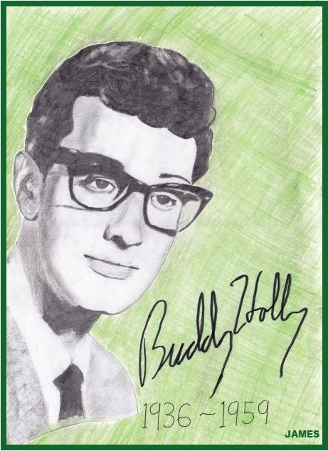 Buddy Holly by James